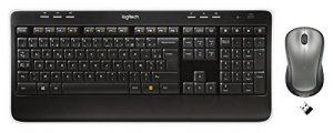 Logitech Wireless Combo MK520 Ensemble clavier + souris Touches Incurve keys Unifying AZERTY Noir de la marque Logitech image 0 produit
