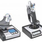 Logitech X52 Flight Control System Joystick de la marque Logitech image 1 produit