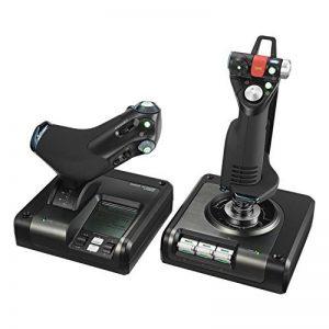 Logitech X52 Pro Flight Control System Joystick de la marque Logitech image 0 produit