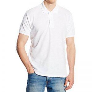 Longra Chemisier Décontractée Homme Garçon Shirt Col V Manche Courte Tee Shirt Solide Chemise Slim fit Homme Hommes Gilet d'été Sport Débardeurs Vêtements Été Homme Basique Haut Mode de la marque Longra image 0 produit