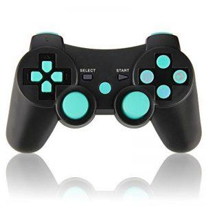 Manette de Jeu Sans Fil avec Double Shock Pour Sony PS3 Playstation 3 (Édition Sixaxis) de la marque TPFOON image 0 produit