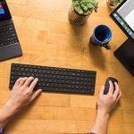 Microsoft 7N9-00007 Designer Bluetooth Desktop - Ensemble Clavier AZERTY et Souris Bluetooth - Noir de la marque Microsoft image 3 produit