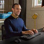 Microsoft Wireless Comfort Desktop 5050 - Ensemble clavier AZERTY et souris sans fil de la marque Microsoft image 4 produit