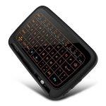 Mini clavier, rétroéclairage Wirele Mouse Touchpad et Combo, Super-vip H18Panneau complet Grande Surface de contact Plusieurs Gestes doigt 2,4G Wifi Mini Touchpad pour Android TV Box, Windows PC, HTPC, IPTV, Raspberry Pi de la marque LinStar image 2 produit