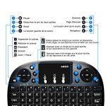 Mini Clavier Sans Fil, GooBang Doo Clavier Bluetooth Portable 2.4GHz avec Touchpad Pavé Compatible avec Box Android TV, PC, Ordinateur Portable, Raspberry Pi, Smart TV, Xbox 360, Projecteur, PS3, HTPC de la marque ABOX image 6 produit