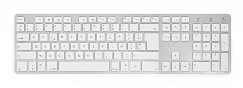 clavier blanc azerty pave numerique