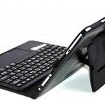 MQ pour Galaxy Tab S2 9.7 - Etui avec clavier bluetooth et pavé tactile intégré multifonctionnel, Clavier français (AZERTY) pour Samsung Galaxy Tab S2 9.7 LTE SM-T815, SM-T819 | Clavier Bluetooth et pavé tactile avec pochette pour Galaxy Tab S2 9.7 WiFi S image 3 produit