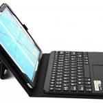 MQ pour Galaxy Tab S2 9.7 - Etui avec clavier bluetooth et pavé tactile intégré multifonctionnel, Clavier français (AZERTY) pour Samsung Galaxy Tab S2 9.7 LTE SM-T815, SM-T819 | Clavier Bluetooth et pavé tactile avec pochette pour Galaxy Tab S2 9.7 WiFi S image 4 produit