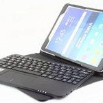 MQ pour Samsung Galaxy Tab A 10.1 - Etui avec clavier et pavé tactile intégré, Clavier français (AZERTY) | Housse avec clavier Bluetooth et pavé tactile pour Galaxy Tab A 10.1 WiFi SM-T580, Galaxy Tab A 10.1 LTE SM-T585 de la marque SonnyGoldTech image 4 produit