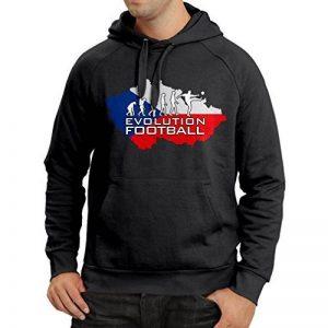 N4494H Sweatshirt à capuche manches longues Evolution Football - Czech Republic de la marque lepni-me image 0 produit