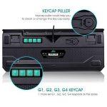 (Nouveauté)Rii K61c Clavier de Jeu Mécanique pour Pro Gaming, Rétro-éclairage de Macro Définition, Version Française-AZERTY de la marque Rii image 2 produit