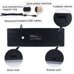 NPET P010 Semi-Mécanique Clavier Gamer AZERTY Câblé USB Flottant Rétroéclairé RGB Clavier Professionnel pour Ordinateur/Portable PC de la marque NPET image 3 produit