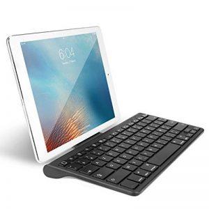 OMOTON Clavier Bluetooth Français AZERTY Accentué avec Support Ultra Mince pour Tablette IOS,iPad Air, iPhone,Clavier Sans Fil Noir de la marque OMOTON image 0 produit