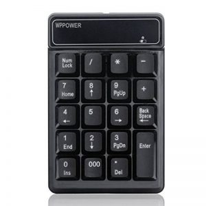 Pavé numérique sans fil pour ordinateur portable Financial Accounting en MacBook et ordinateur portable PC de la marque WPPOWER image 0 produit