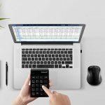 Pavé numérique USB et souris Combo, Sunreed Mini USB sans fil 2,4G pavé clavier et souris pour ordinateur portable PC de bureau ordinateur portable, en un seul Port USB–Noir de la marque Sunreed image 4 produit