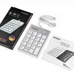 Perixx PERIPAD-202H Pavé Numérique Pour PC - 2 Hubs - Touche Tab - USB - Blanc de la marque perixx image 4 produit