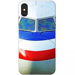 Planes avions avions téléphone Housse/Coque rigide pour Apple téléphone portable, Front Cockpit Of Airplane, Apple iPhone X (iPhone 10) de la marque Fancy-A-Snuggle image 0 produit
