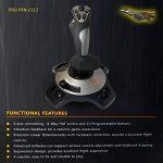PXN-2113 Jeu Flight Joystick Flight Simulator Jeu Rocker Controller Flight Stick Bar Vibration Joystick Flight de la marque JalonC image 6 produit