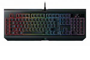 Razer BlackWidow Chroma V2 (2017) - Clavier Gaming Mécanique, Rétro-Éclairage RGB - Yellow Switch (Linéraire et Silencieux) - AZERTY-Layout de la marque Razer image 0 produit