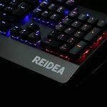 REIDEA Clavier Mécanique AZERTY RGB, Entièrement Programmable Clavier de Jeu Mécanique,Switches Rouges et 105 touches Anti-Ghosting de la marque REIDEA image 4 produit
