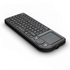 Rii Mini Clavier K01X1 sans fil(AZERTY) 2,4 GHz avec Touchpad pour PC, PAD, XBox 360, PS3, TV box Google Android, HTPC, IPTV. de la marque Rii image 0 produit
