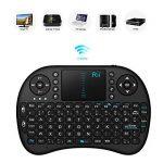 Rii Mini i8 Wireless (AZERTY) - Mini Clavier Française Ergonomique sans Fil avec Touchpad - Pour Smart TV, mini PC, HTPC, Console, Ordinateur de la marque Rii image 4 produit