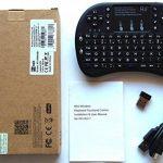Rii Mini i8+ Wireless (AZERTY) - Mini Clavier Française Rétro-éclairé Ergonomique sans Fil avec Touchpad - Pour Smart TV, mini PC, HTPC, Console, Ordinateur (Noir) de la marque Rii image 6 produit