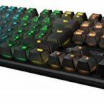 Roccat Suora FX Clavier Gaming Mécanique Rétroéclairé RGB, AZERTY, Touches Macro, Touches Lumineuses et Multicouleurs, avec Système Anti Ghosting, Connexion USB pour PC, Jeux FPS et MMO, Noir de la marque Roccat image 2 produit
