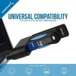 Sabrent 4-Port Hub USB 2.0 Moyeu Rotatif [90°/180° Degré Rotatif] (HB-UMN4) de la marque Sabrent image 4 produit