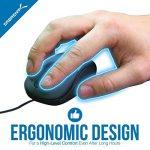 Sabrent Mini USB Optical Mouse Souris de voyage avec câble rétractable (Ms-opmn) de la marque Sabrent image 3 produit