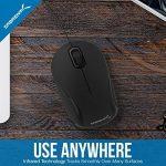 Sabrent Mini USB Optical Mouse Souris de voyage avec câble rétractable (Ms-opmn) de la marque Sabrent image 4 produit
