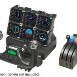 Saitek Joystick Pro Flight Yoke System 14 boutons de contrôle Pro Flight Throttle Quandrant inclus de la marque Saitek image 4 produit