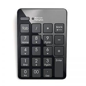 Satechi Clavier Numérique Bluetooth Sans Fil 20 Touches pour Entrée de Données sur Excel et Numbers - Compatible pour Smartphones, Tablettes, Surface Pro, Windows, OSX de la marque Satechi image 0 produit