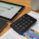 Satechi Clavier Numérique Bluetooth Sans Fil 20 Touches pour Entrée de Données sur Excel et Numbers - Compatible pour Smartphones, Tablettes, Surface Pro, Windows, OSX de la marque Satechi image 4 produit