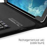 Seluxion - Étui de Protection avec Clavier Intégré Azerty Français Connexion Bluetooth Universel L pour Tablette Samsung Galaxy Tab A6 10 Pouces [Dimension 26,5 x 18,5 cm] de la marque KARYLAX image 3 produit