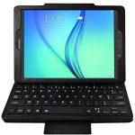 Seluxion - Etui de Protection Noir avec Clavier Azerty Connexion Bluetooth Pour Tablette Samsung Galaxy Tab E 9.6 Pouces [Modèles Samsung Galaxy Tab E 9.6 SM-T560 / SM-T561 / SM-T565. Dimensions 241.9 x 149.5 x 8.5 mm] de la marque KARYLAX image 3 produit