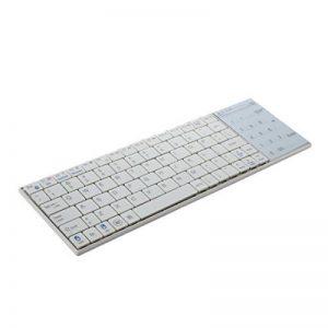 SODIAL(R)Blanc sans fil Bluetooth 3.0 clavier avec pave tactile pour Apple MacBook Air Pro de la marque SODIAL image 0 produit
