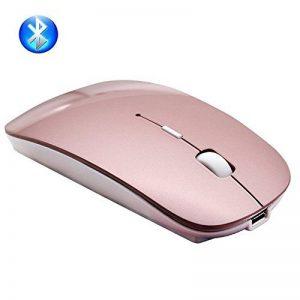 Souris Bluetooth, EONANT 3.0 Souris Portable avec Souris USB sans Fil Rechargeable Silencieuse et Silencieuse Cliquez pour Ordinateur Portable, PC, Ordinateur Portable, Ordinateur, Tablette Windows / Android, Macbook de la marque EONANT image 0 produit