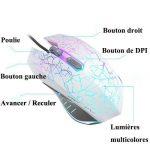 souris sans fil 4 boutons TOP 1 image 2 produit