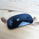 Souris sans fil Bluetooth 3.0 [Optique et Rechargeable] Design [Ultra, Fine & Plate] Noir 800/1200/1600 DPI USB PC Windows MAC Macbook de la marque Facil&co image 1 produit