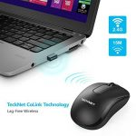 Souris Sans Fil TeckNet Optique USB 2.4 GHz, Wireless Mouse Portable, Souris PC Ergonomique avce Nano Récepteur, 3 Bouton de la marque TeckNet image 3 produit