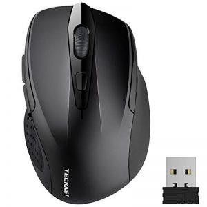 Souris Sans Fil TeckNet Pro 2.4G Wireless Mouse Gamer avec 5 DPI Réglables (2600/2000/1600/1200/800), Souris USB Optique pour Jeux avec Récepteur Nano de la marque TeckNet image 0 produit