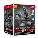 Speedlink DARK TORNADO Flight Stick - Joystick pour Jeux et Simulateurs pour PC (Force Vibration,USB, Manette de Gaz) Noir de la marque Speedlink image 2 produit