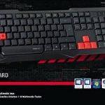Speedlink LUDICIUM Gaming Keyboard FR Layout - Clavier de Gaming à Prise USB (10 Boutons Foctions Multimédias, Forme Ergonomique) Noir de la marque Speedlink image 2 produit