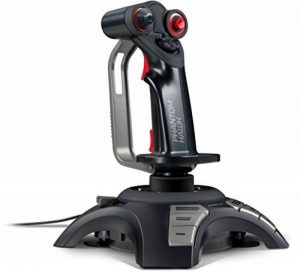 Speedlink Phantom Hawk Joystick pour Jeux et Simulateurs de Vol pour PC (Manette des Gaz, Manche Pivotant, Fonction de Vibrations, Chapeau Chinois 8 Directions, USB) de la marque Speedlink image 0 produit