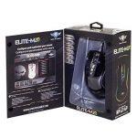 SPIRIT OF GAMER Gaming Mouse ELITE-M20 black gloss/Rétro éclairage RGB/résolution 4000 dpi/7 boutons programmables via logiciel inclus de la marque SOG image 6 produit