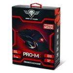 """SPIRIT OF GAMER Gaming Mouse """"PRO-M5"""" USB / Résolution 3200 dpi / 7 boutons dont 1 Rapid FIRE / câble nylon tressé / Rétro-éclairage Rouge Victory de la marque Spirit Of Gamer image 3 produit"""