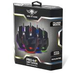 "SPIRIT OF GAMER Gaming Mouse ""PRO-M8 Light Edition "" - 3500 DPI - 7 BOUTONS dont 1 RAPID FIRE - rétro éclairage LED 4 couleurs/Câble gainé de la marque Spirit Of Gamer image 3 produit"