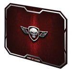 SPIRIT OF GAMER Tapis de souris Red Winged Skull Taille M pour souris optique ou laser / Tissu ultra-lisse de 3mm d'épaisseur de la marque Spirit Of Gamer image 1 produit