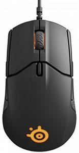 SteelSeries Sensei 310 - souris optique de jeu - ambidextre / éclairage RVB / 8 boutons / bords en caoutchouc / (PC/Mac) - Noire de la marque SteelSeries image 0 produit